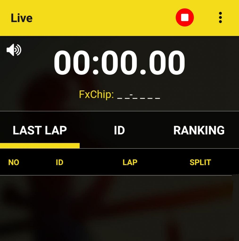 Live timing data - Freelap professional automatic sport timing system