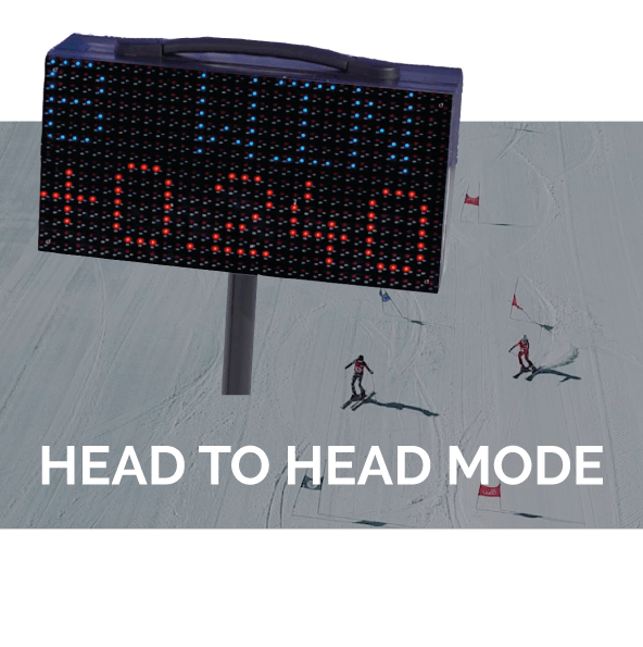 Ski dual mode timing - professional timing system - Freelap